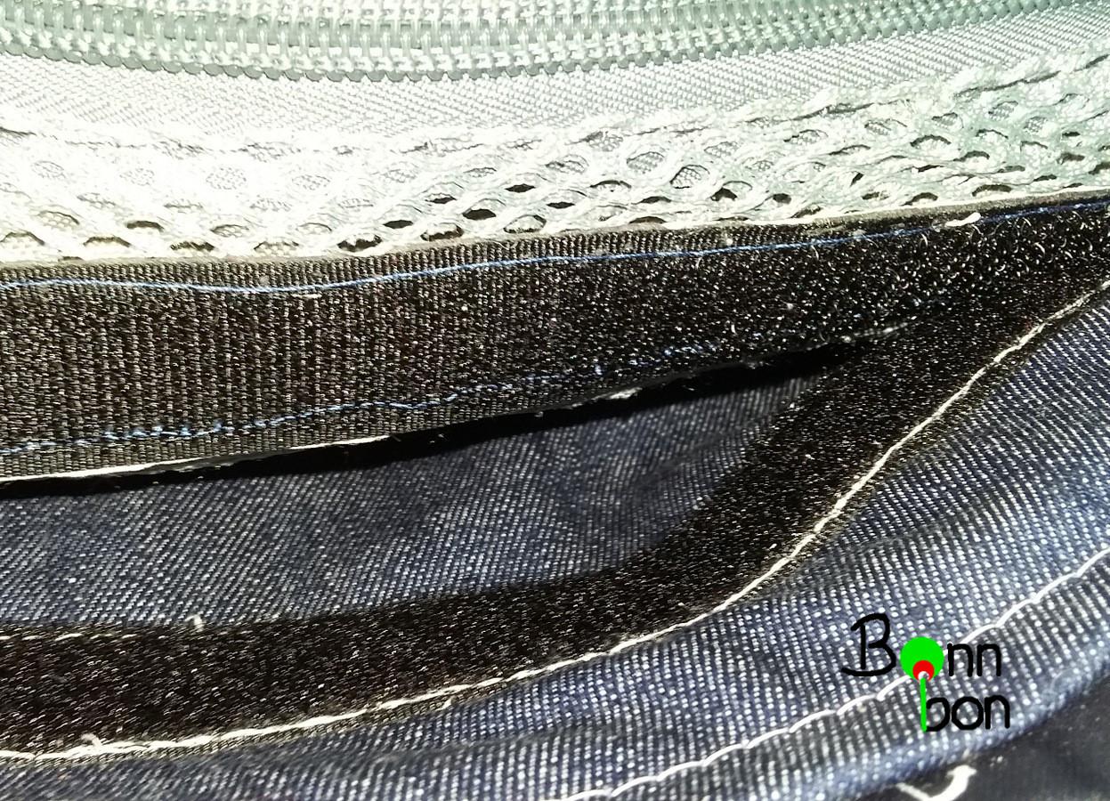 Klettband zur Befestigung