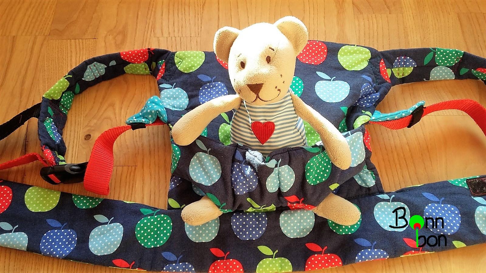 Puppentrage Ansicht Sitz für Puppen