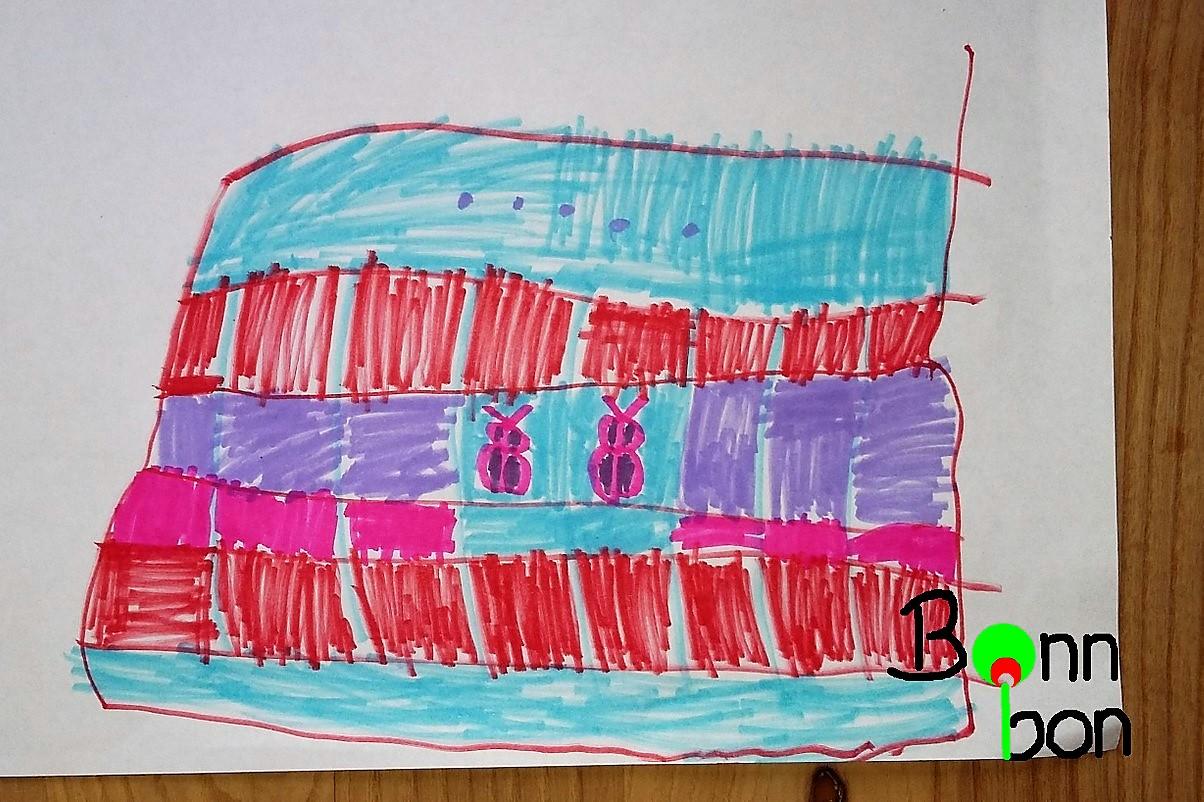 Zeichnung vom Täschchen