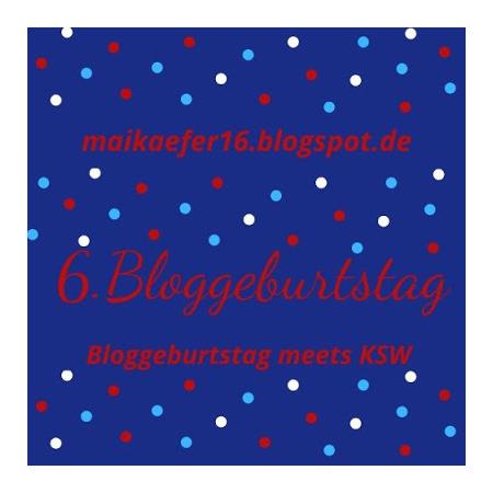 Bloggeburtstag bei Maikaefer